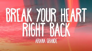 Ariana Grande - Break Your Heart Right Back feat. Childish Gambino (Audio)
