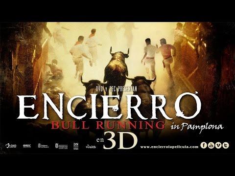 Encierro 3D Bull Running in Pamplona San Fermín 2012 (Spanish language)