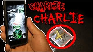 (APPEARED!!) CHARLIE CHARLIE CHALLENGE WITH GHOST TRACKER