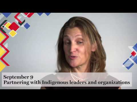 Progressive Trade: Partnering with Indigenous Leaders and Organizations