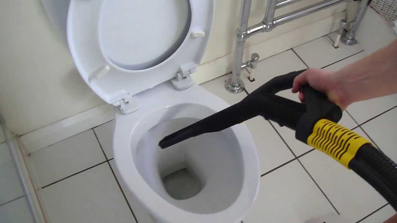 Professional Steam Cleaning Toilet Part 75