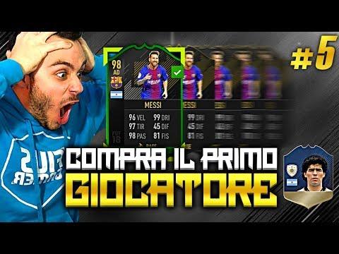 LIONEL MESSIIII!!!!!!! COMPRA IL PRIMO GIOCATORE MARADONA EDITION #5 | FIFA 18 ITA