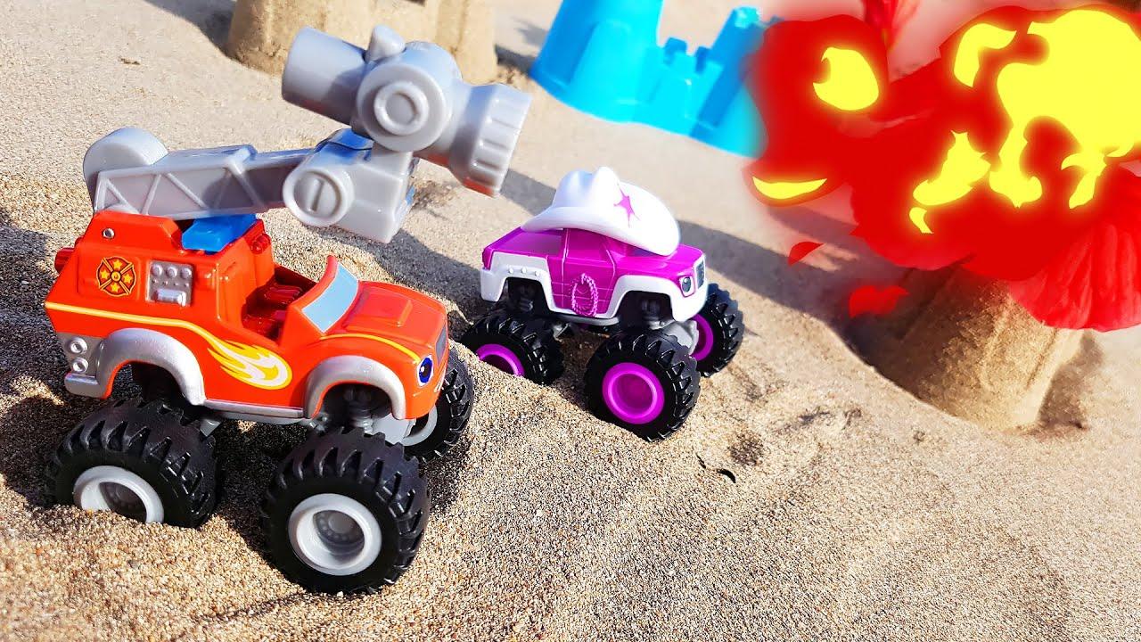 Вспыш и чудо-машинки - Видео с игрушками - YouTube