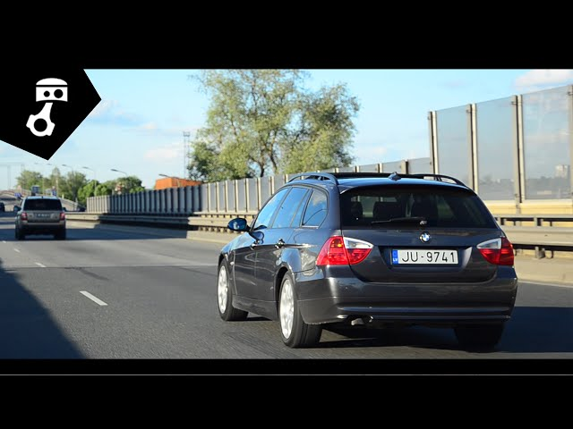 BMW 320d (E91) Тест-драйв; zhmuraTV