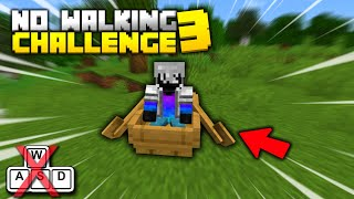 Minecraft, but you can't WALK! (Playing without WASD)