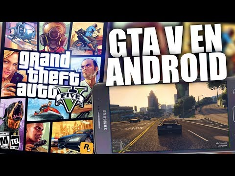 ¡Gta V Mobile Android! | Peralta Games Y Su FARZA! De Gta V Mobile!