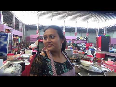 Vamos A Comprar Comida Al Mercado Municipal # 2 De Usulután, El Salvador .