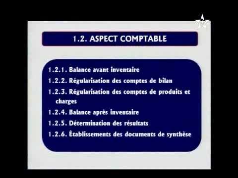 Comptabilite Et Mathematiques Financieres Introduction Aux Travaux De Fin D Exercice Youtube
