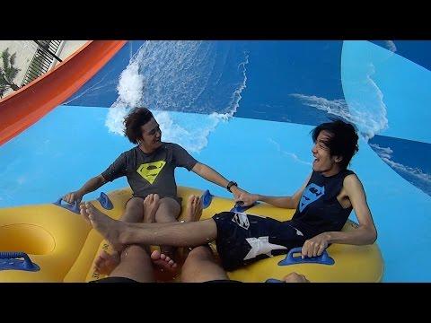 Big Tornado Water Slide at Santorini Water Fantasy