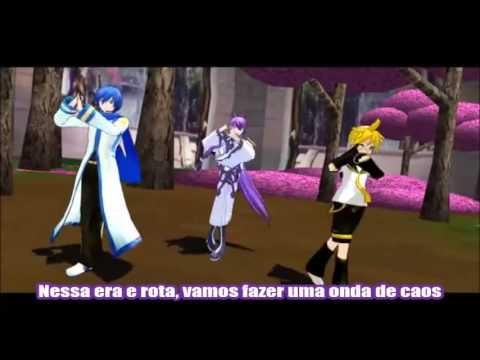 Dancing Samurai  Gakupo Kaito e Len legendado PTBR