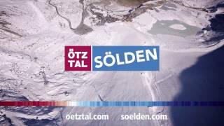 Sölden im Oktober 2016 - Weltcup-Hang am Rettenbach Gletscher