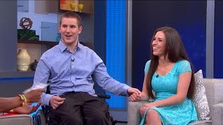 Injured Student Walks at Graduation for the 1st Time in 4 Years