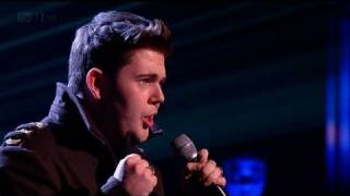 Craig Colton's on Fire closing Halloween Night - The X Factor 2011 Live Show 4 (Full Version)