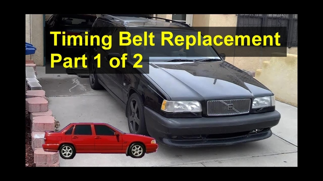 medium resolution of how to replace the timing belt on the volvo 850 s70 v70 etc part 1 of 2 votd 1997 volvo 850 timing belt diagram engine mechanical problem 1997