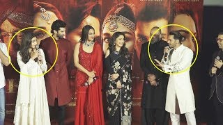 Varun Dhawan And Alia Bhatt FIGHTS On Stage  😂 At Kalank Teaser Launch