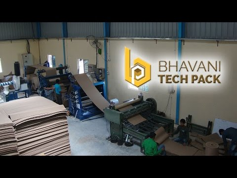 Corrugated Packaging Boxes Sheets Rolls Partitions Machohalli Bengaluru Bangalore India mp4