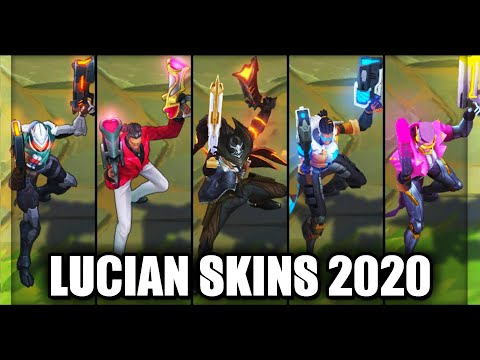 All Lucian Skins Spotlight 2020 (League of Legends)
