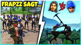 😂 FRAPZZ SAGT... | Blaumützen VS. No Skins! - Fortnite Battle Royale
