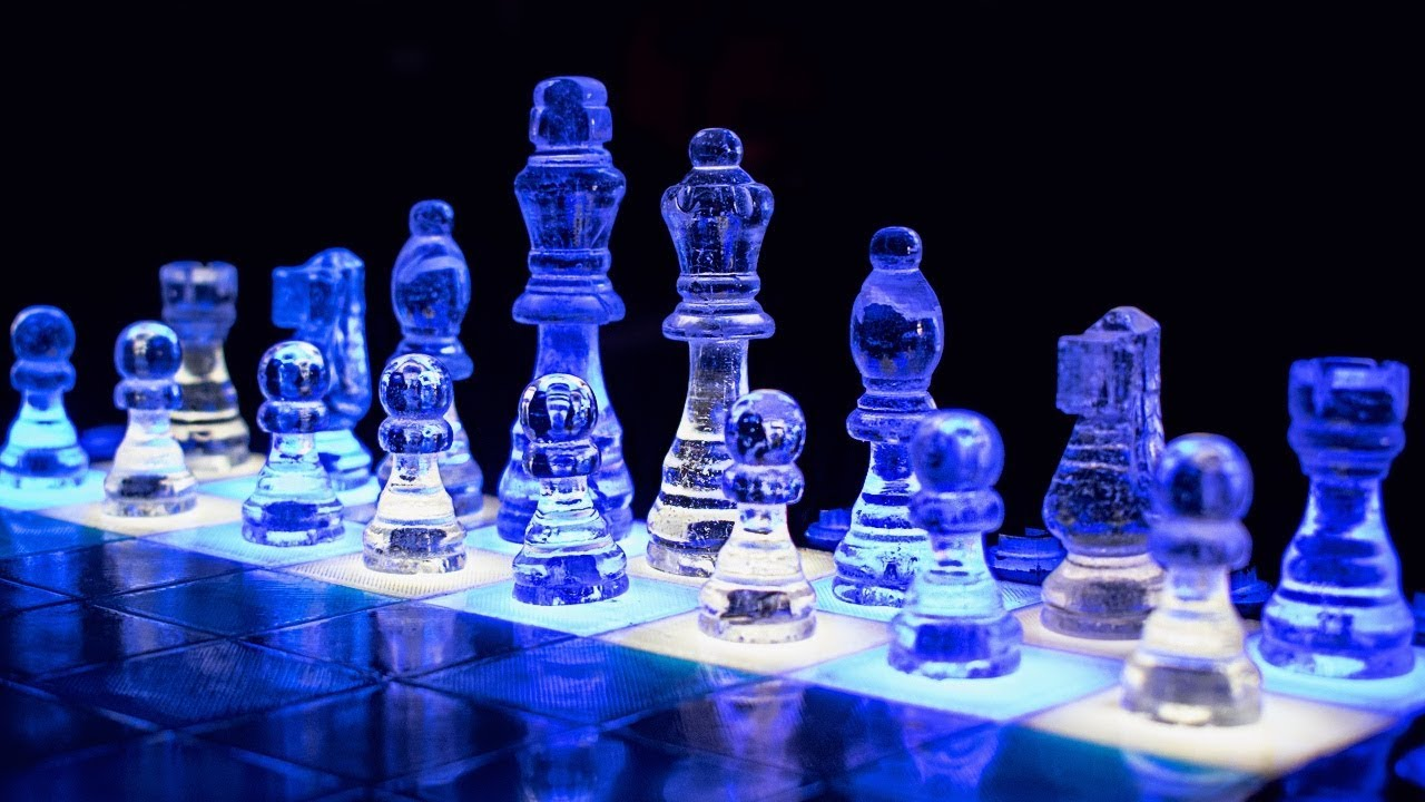 Epoxy Resin Chess Set How To Make Youtube