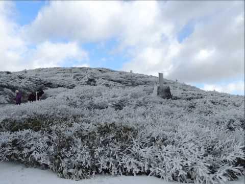 蔵王の紅葉と雪景色!