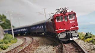 KATO 寝台急行 つるぎ EF58 ED70 DE10 設定イメージ 昭和45年頃 大阪→富...