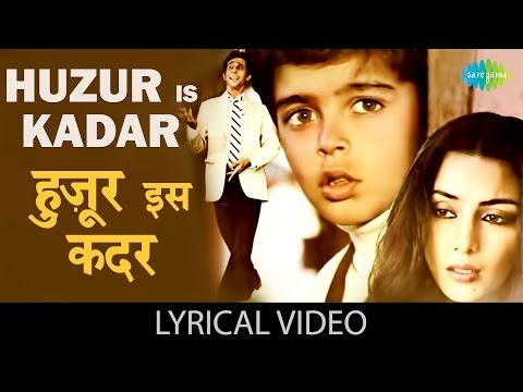 Huzoor Is Kadar with lyrics | हुज़ूर इस कदर गाने के बोल | Masoom | Naseeruddin Shah, Shabana Azmi