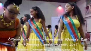 vuclip ELACS(ቤ/ት ባህልን ቛንቛን ኤርትራ) Girls Dancing at Eritrean 2017 Women's Day