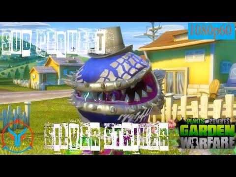 Plants Vs Zombies Garden Warfare Sub Request- Silver Striker - Power Chomper