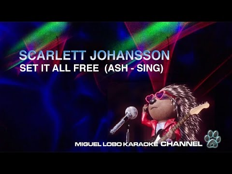 [Karaoke] Scarlett Johansson - Set it all free  (SING Movie Soundtrack) - Miguel Lobo