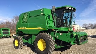 Kansas Farmer Cleans His John Deere 9560 Combine with Toothbrush
