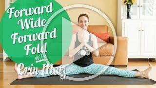 Seated Wide Forward Fold Tutorial (Beginner)