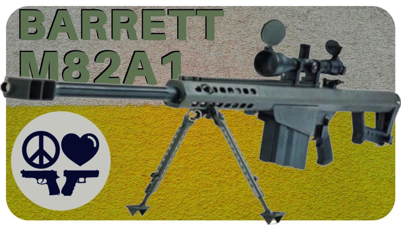 Barrett M82A1 50BMG Anti-Material Rifle Review Video