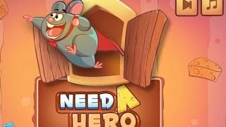 Need A Hero Level1-45 Walkthrough