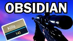 MY BEST GAME EVER to UNLOCK OBSIDIAN CAMO!!