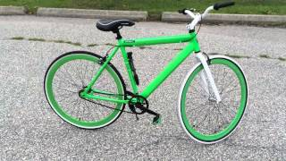 walmart alum fixie bike review