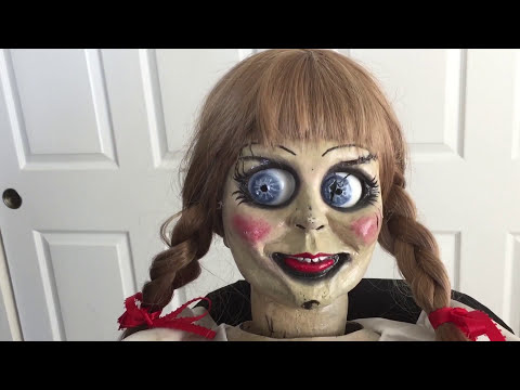 the conjuring annabelle prop replica doll pt 1 full review