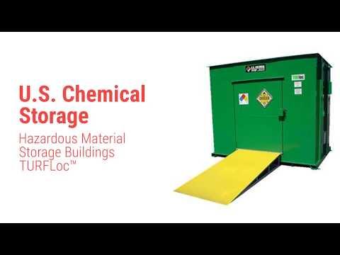 U.S. Chemical Storage - Hazardous Material Storage Buildings TURFLoc™