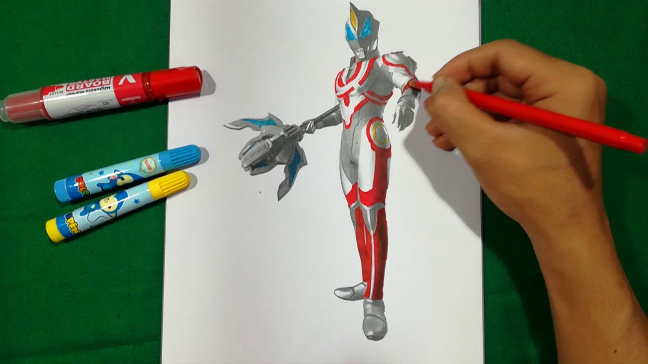 ULTRAMAN GEED ULTIMATE FINAL GEAR Coloring Pages SAILANY Coloring Kids