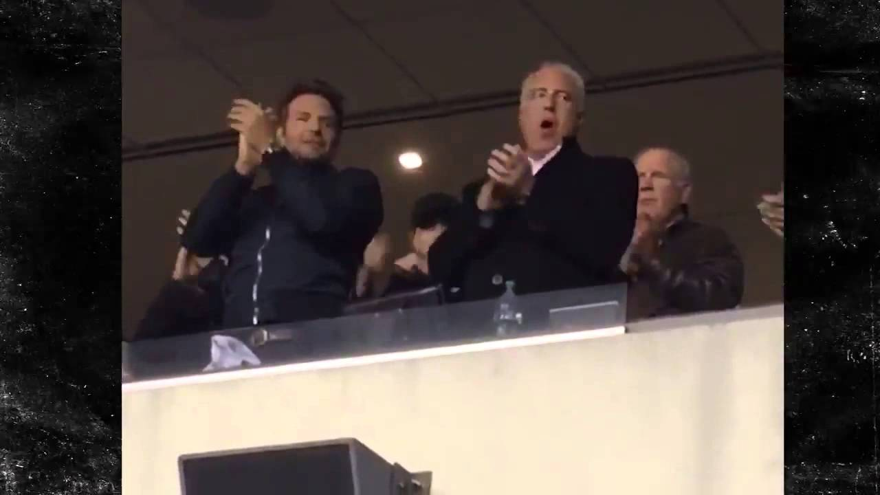 Bradley Cooper Sings Eagles Fight Song With Team Owner ...