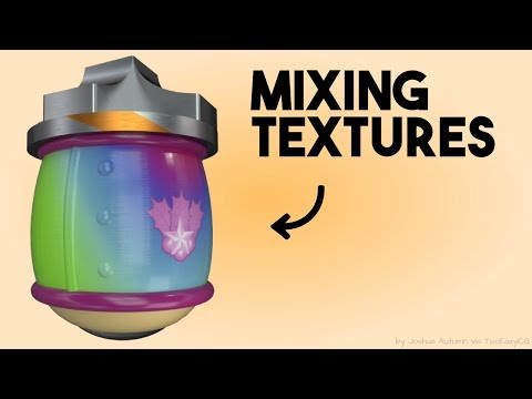 A COOL Way To Mix Textures For Your Material || Blender Tutorial