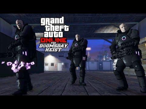 GTA V Online : Doomsday Heist #17 | C/ Gana, Ricfazeres e RaitonGG | DROIDS  FDPs