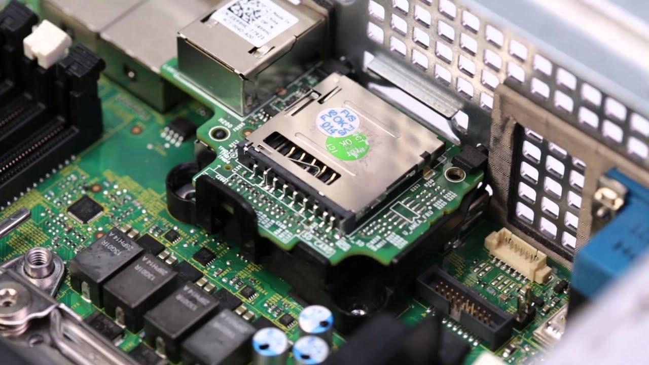 PowerEdge R530xd: Install iDRAC Ports Card
