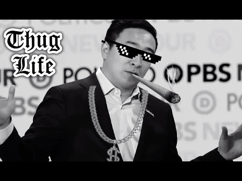 Andrew Yang's thug life moment from 6th Democratic Debate