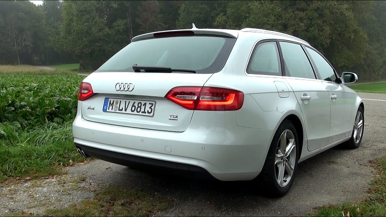 2014 audi a4 2 0 tdi 150 hp quattro facelift test drive youtube. Black Bedroom Furniture Sets. Home Design Ideas