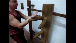 O Boneco de Madeira do Wing Chun - Parte 2 - aulas tradicionais em Niterói RJ