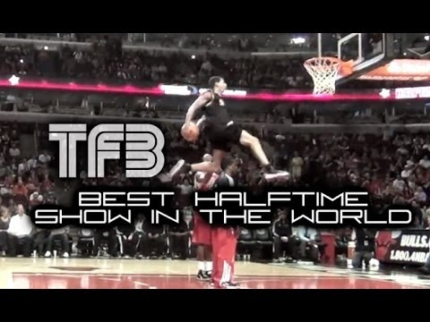 Team Flight Brothers  is the Best NBA Half-Time Show in the World | Amazing Dunk Contest