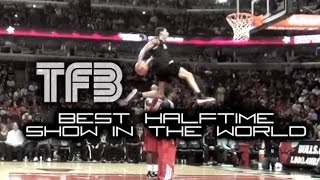 Team Flight Brothers  is the Best NBA Half-Time Show in the World   Amazing Dunk Contest
