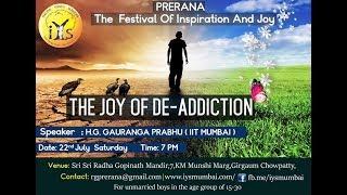 Prerana Festival  by Gauranga Prabhu at ISKCON Chowpatty Part1 on 22 July 2017