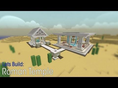 Minecraft | Let´s Build | HD | Creative | Small Roman Temple
