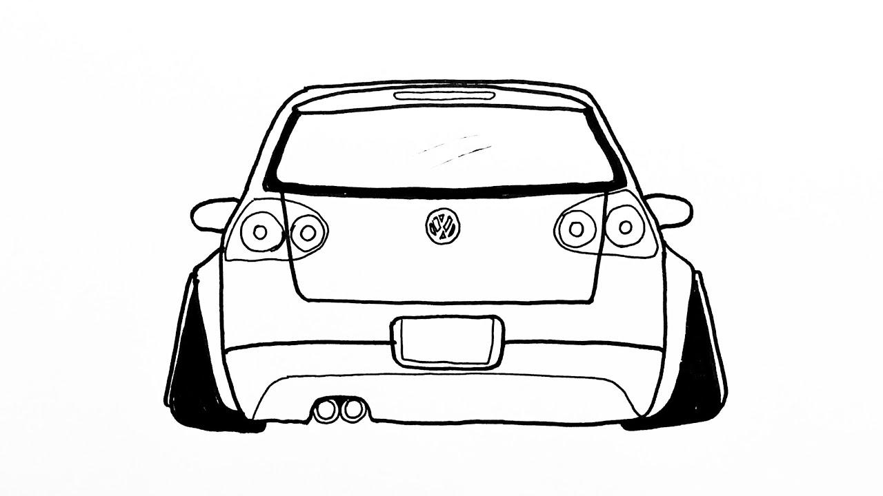 TRANSPORTER NASIL ÇİZİLİR? | ÇOK KOLAY! | VW Transporter Çizimi